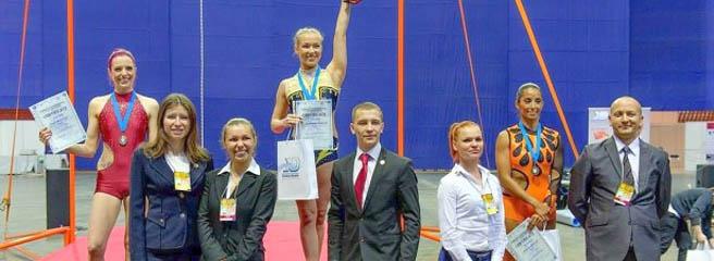 Mit einem Lächeln gewinnt Caroline Lange WM-Silber