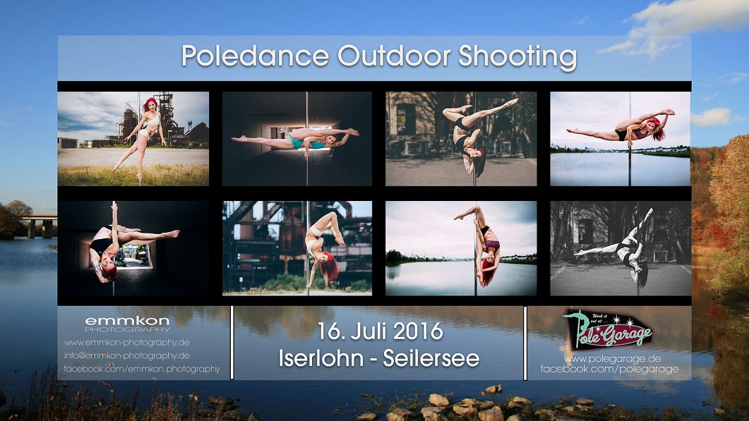 Poledance Outdoor Shooting at Seilersee with emmkon photography